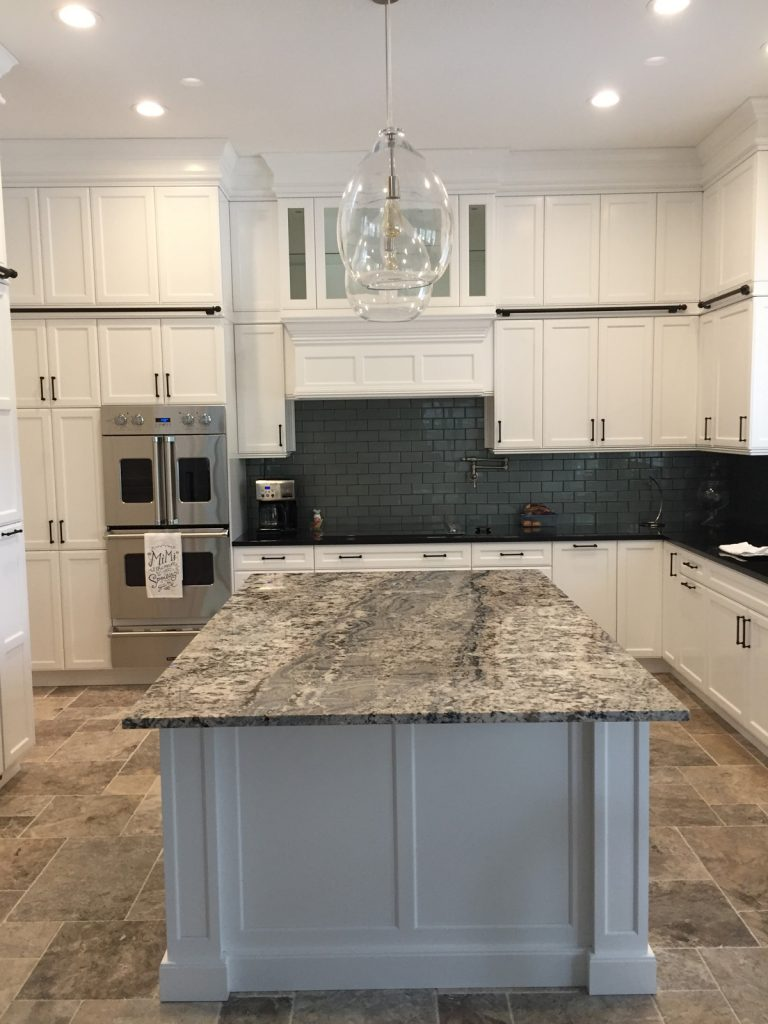 Feature Remodel Project – White Kitchen Cabinets - Level ...