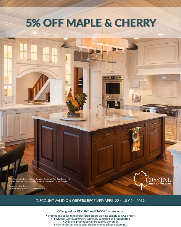 5% OFF MAPLE & CHERRY