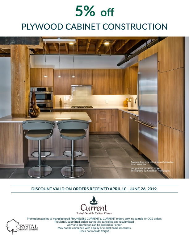 5% Off Plywood Cabinet Construction
